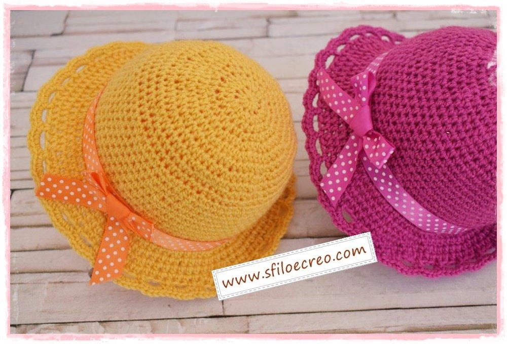 cappellino simply a uncinetto