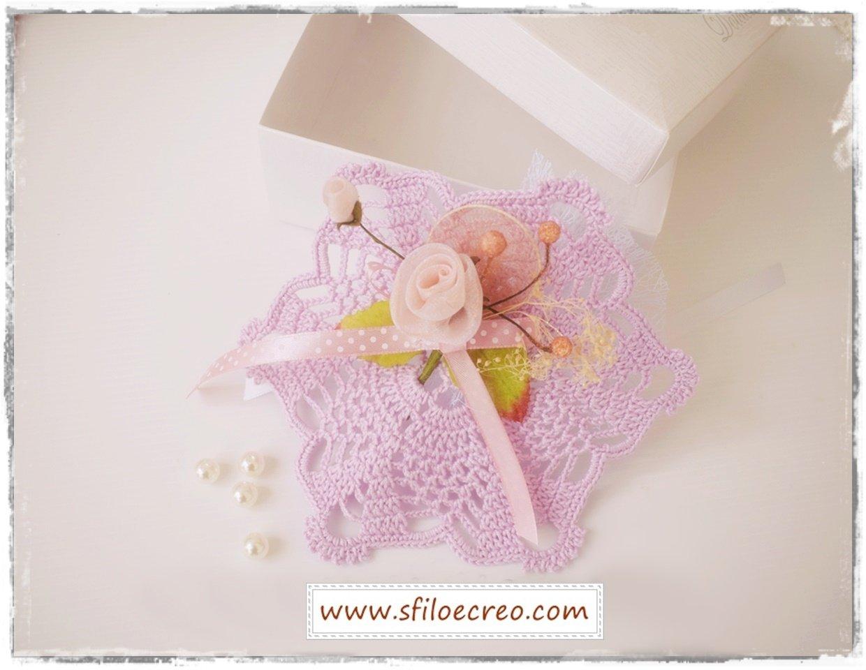 sacchettino lily a uncinetto