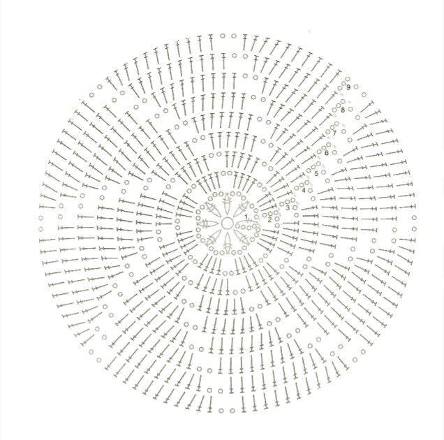 ciotoline spiral a uncinetto