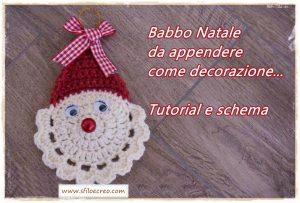 Read more about the article Babbo natale da appendere