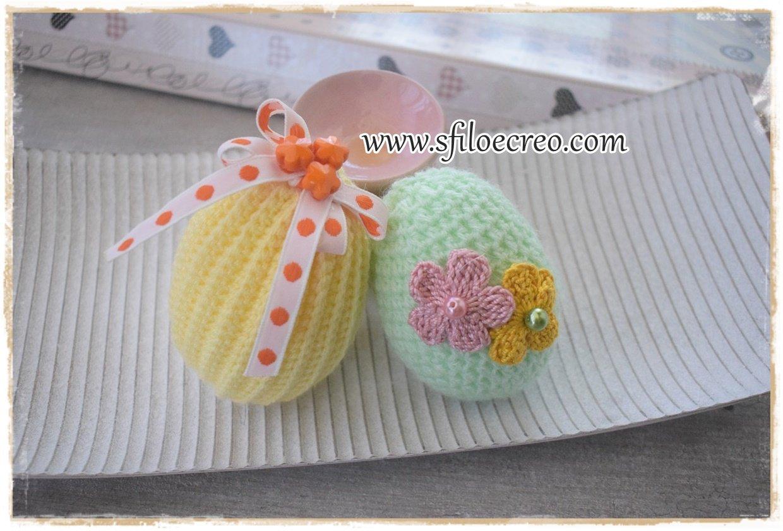 Read more about the article Come fare le uova di pasqua a uncinetto