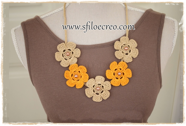 Read more about the article Collana con fiori