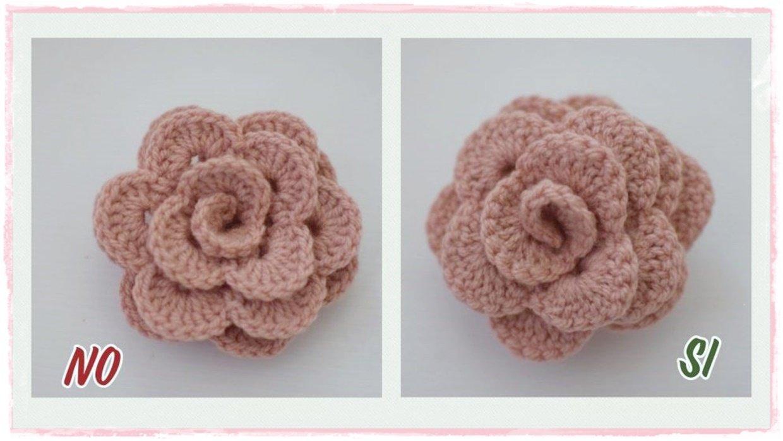 Read more about the article Come fare una rosa perfetta a uncinetto