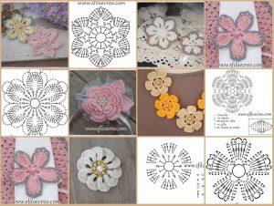 Read more about the article Raccolta di fiori a uncinetto