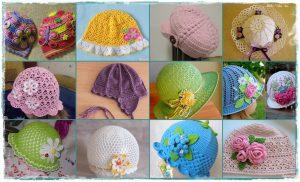 Read more about the article Raccolta di cappellini con schemi