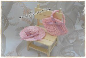 Come fare mini cappellino e borsetta