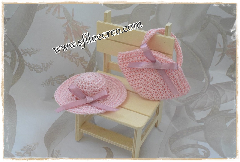 Read more about the article Come fare mini cappellino e borsetta