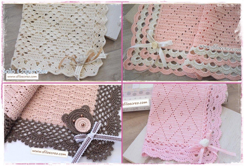 Quattro copertine in cotone